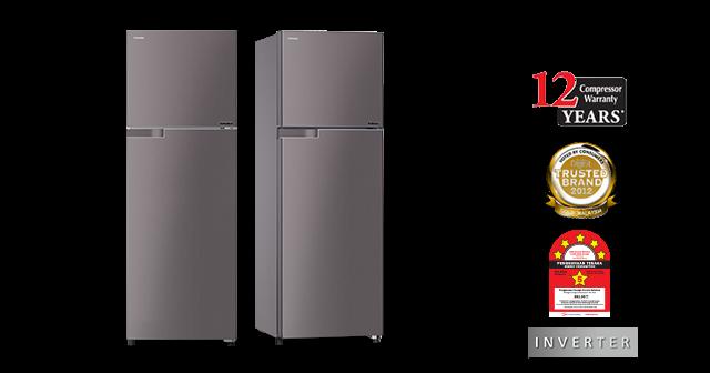 Tủ lạnh Toshiba GR-T39MBZ 330l Điện Máy Nhập Khẩu