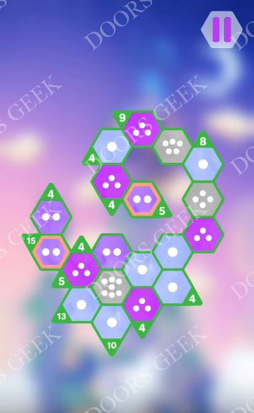 Hexologic Level 58 Solution, Cheats, Walkthrough for android, iphone and PC Steam