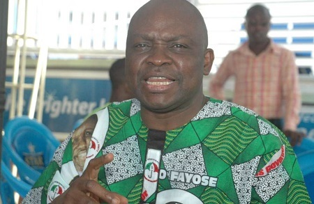 Fayose Blasts Striking Ekiti Workers