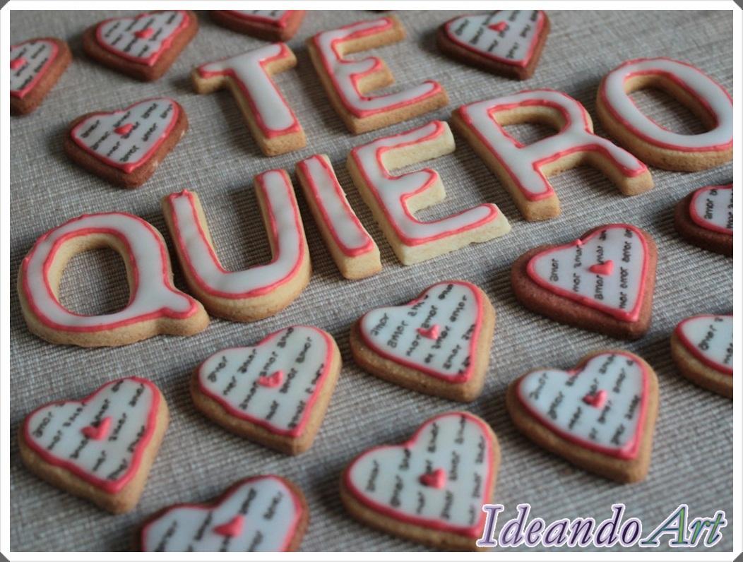 Galletas Te quiero