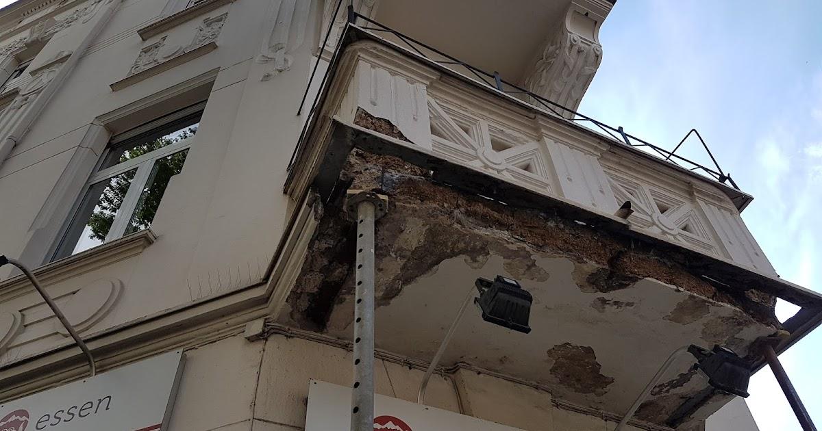 Stuck Belz Blog Balkonsanierung An Einem Jugenstil Altbau
