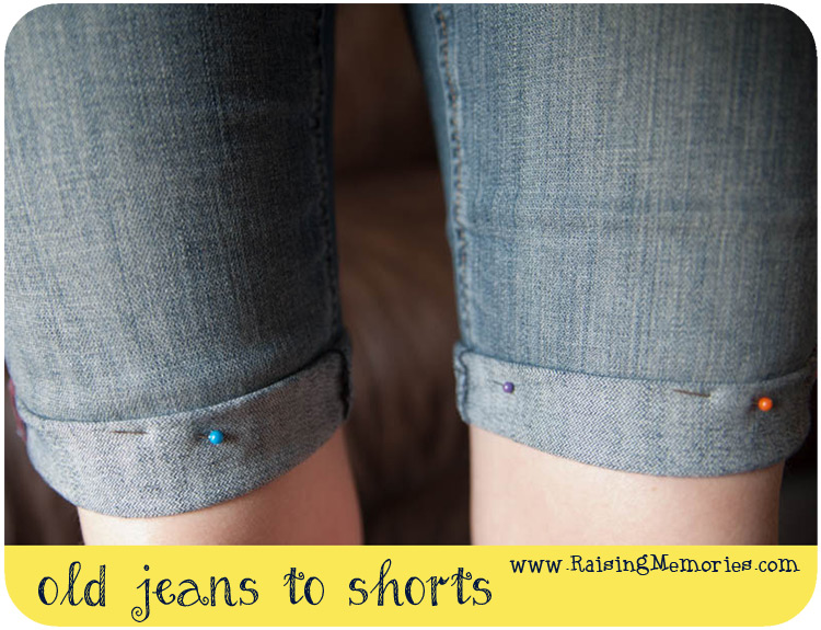 Make Your Own Shorts from Old Pants