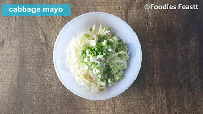 Cabbage Mayo With Rice Salad