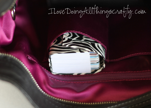 DIY Credit Card Wallet | Holder for All Loyalty/Credit Cards
