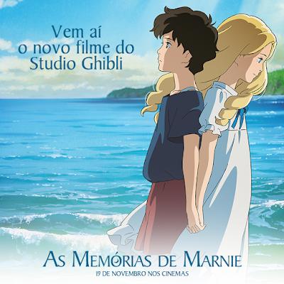 As memórias de Marnie estará disponível nos cinemas a partir de 19 de novembro
