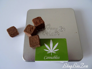Truffes cannabliss chanvre et cacao - Rrraw