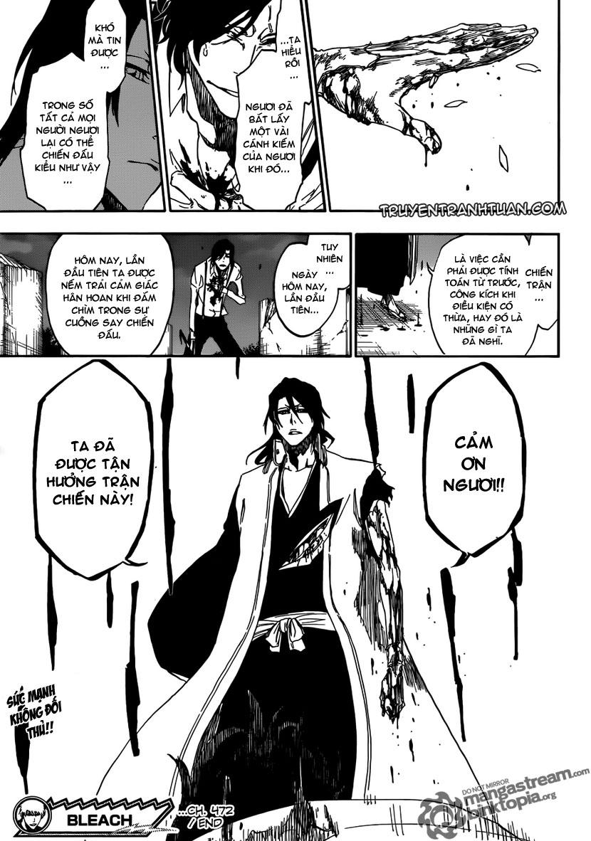 Bleach chapter 472 trang 18