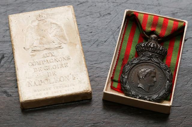 medaglia di sant'elena valore quanto vale scatola boite saint helene