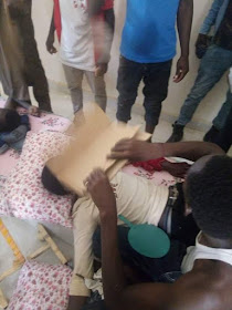 GRAPHIC IMAGES: Nigerian soldiers brutalized college students In Bauchi