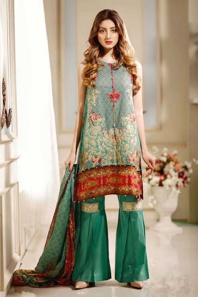 Warda Spring Summer Melange Lawn Collection 2017-18
