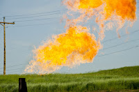 The Environmental Defense Fund estimates that $330 million worth of natural gas is lost to venting and flaring every year. (Image Credit: Tim Evanson, CC BY–SA 2.0) Click to Enlarge.