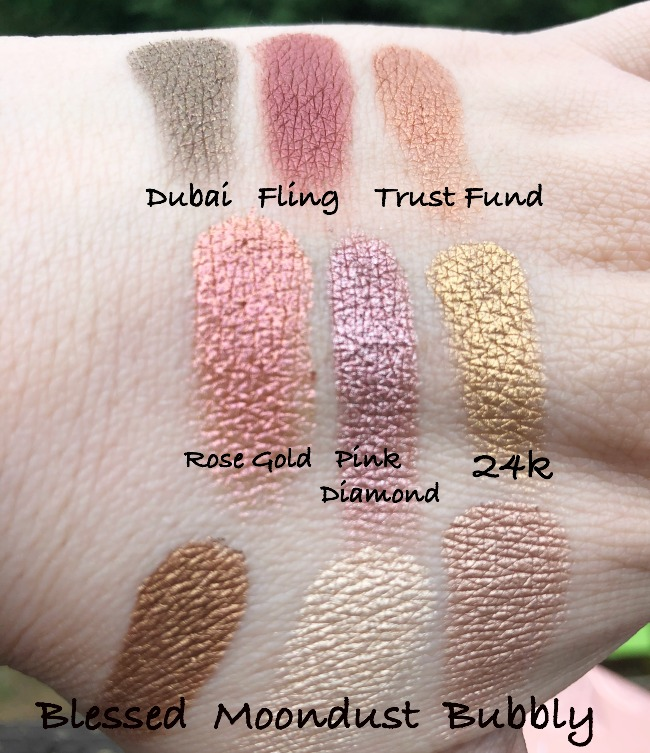 Huda Beauty Rose Gold Remastered Palette Swatches Crazy Beautiful