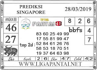 """Prediksi Togel """"SINGAPORE"""" PANTAI4D 28 MARET 2019"""