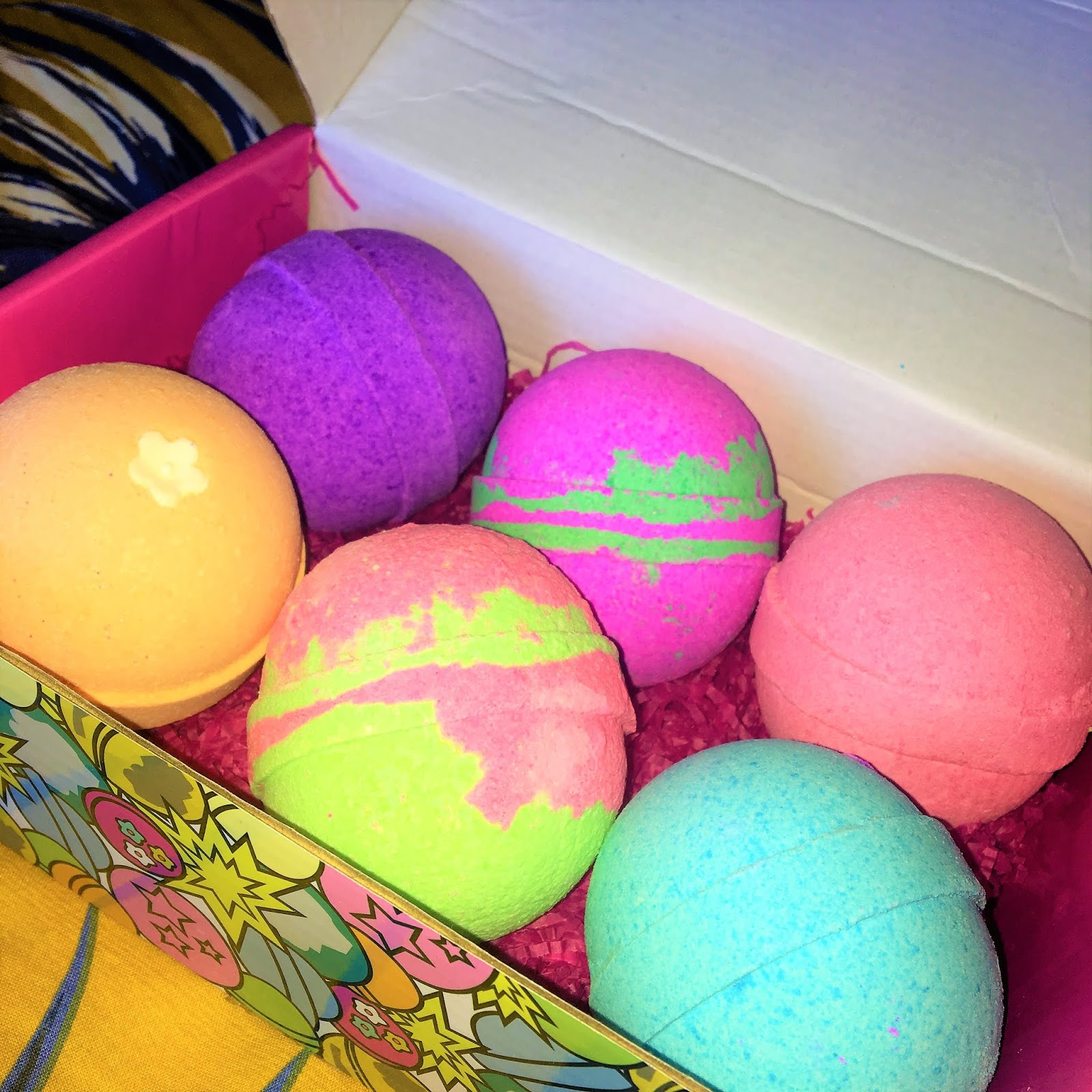 SueZBana Bath Bombs Gift Set