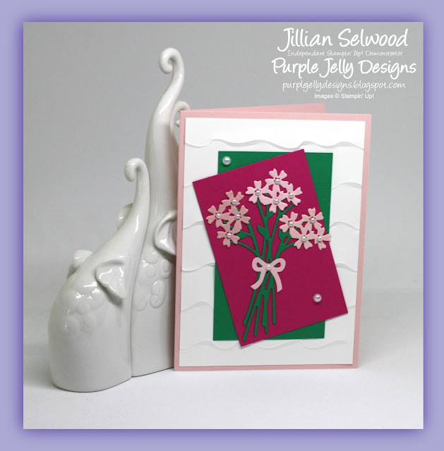 Beautiful Bouquet Stamp Set, Bouquet Bunch Framelits Dies