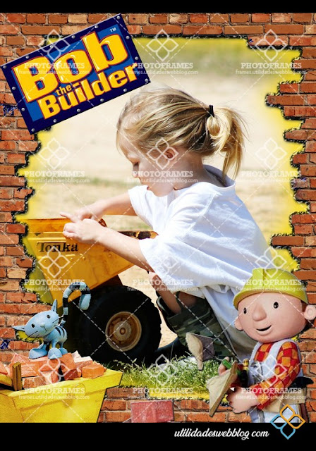 Free Bob the Builder Photo Frame