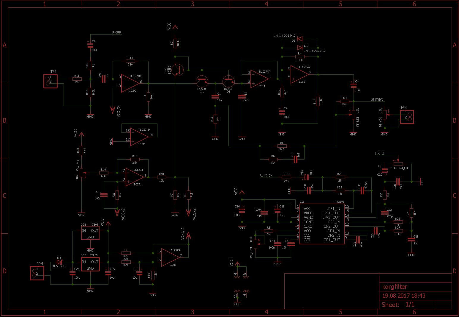 100V Spannungswandler   Leuchtdiödchen und Kondensator