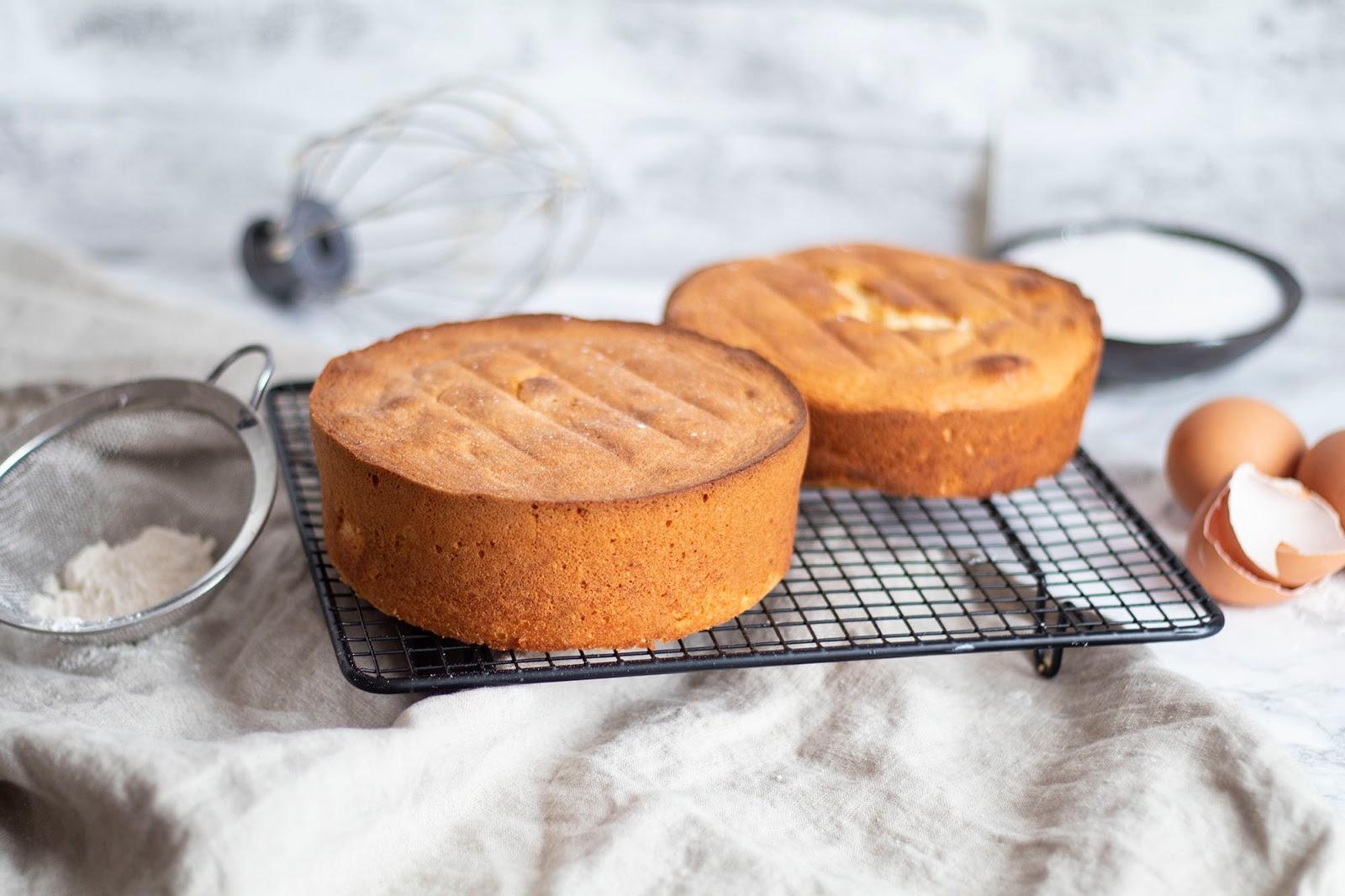 Recette d'une délicieuse génoise nature pour réaliser vos layer cakes