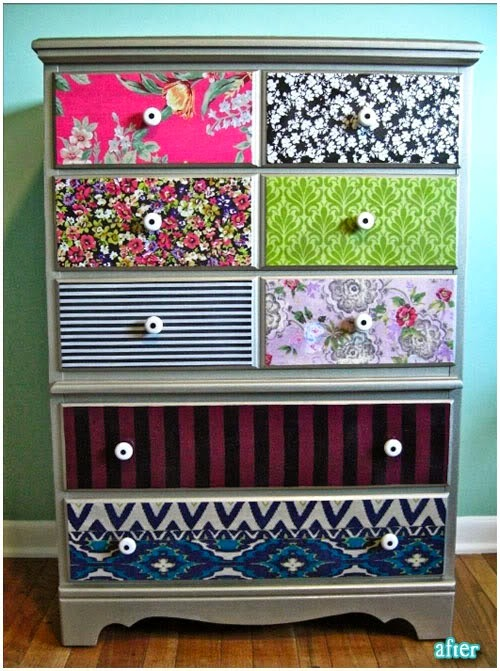 cajonera decoupage idea diy