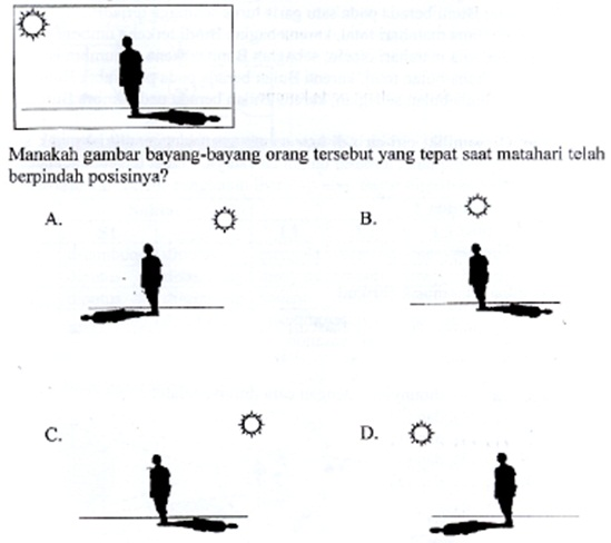 40 Arsip Soal Ujian Sekolah US/UN IPA SD dan Kunci Jawaban