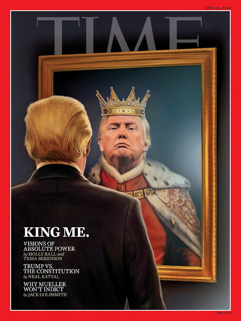 King Me-Donald Trump Is On The Cover Of Time Magazine's Latest Issue