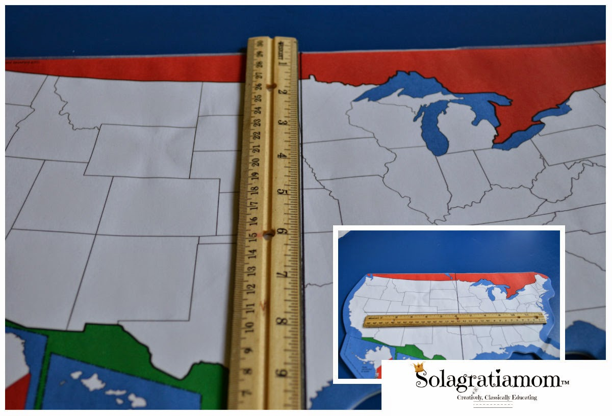 Kids maps educate and engage. Solagratiamom How To Start Young Kids Drawing The U S