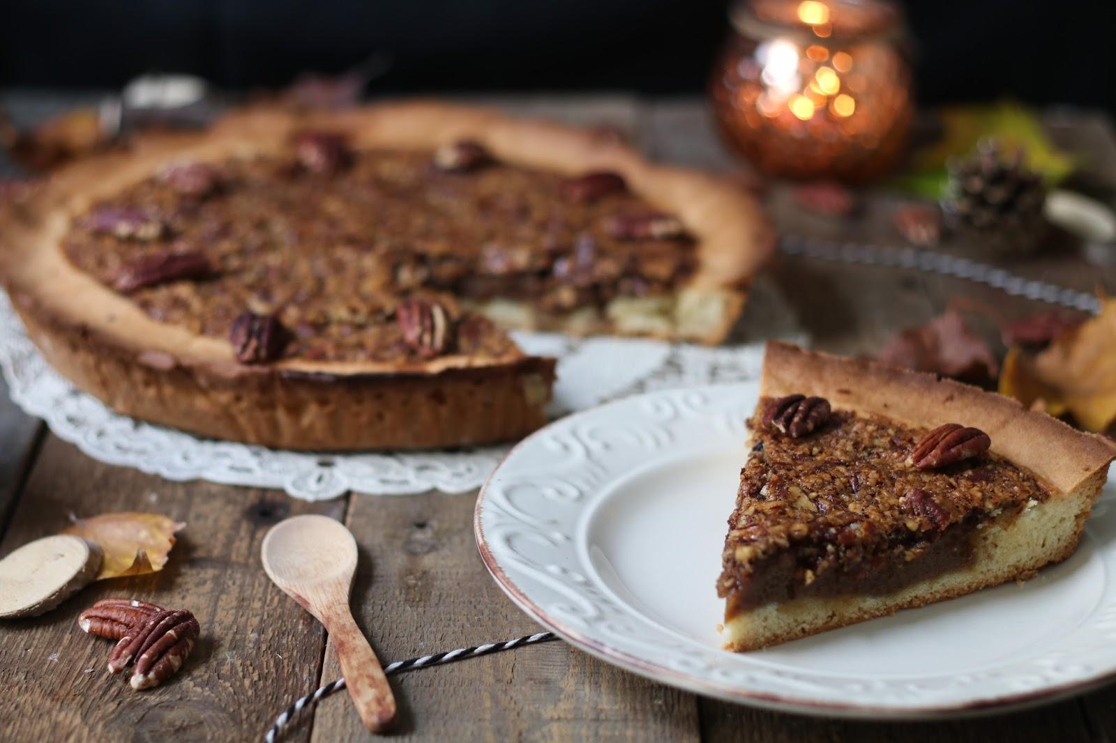 Recette de la tarte aux noix de pécan. Un vrai réconfort pour les papilles