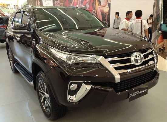 all new fortuner SRZ black