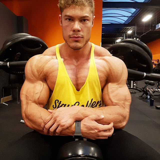 Vintage Genetics : Wesley Vissers Keep Jacked During Off Season