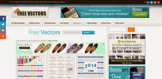 Situs Penyedia Vector Gratis 123 Free Vector