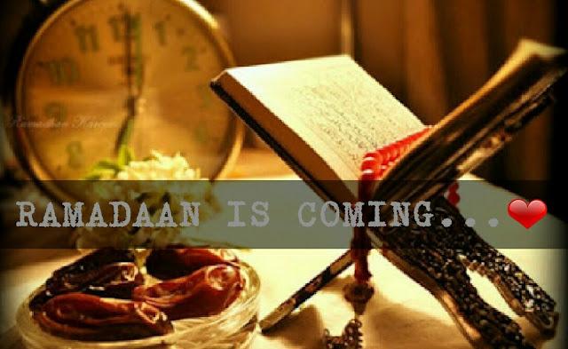 Ramadan is coming....