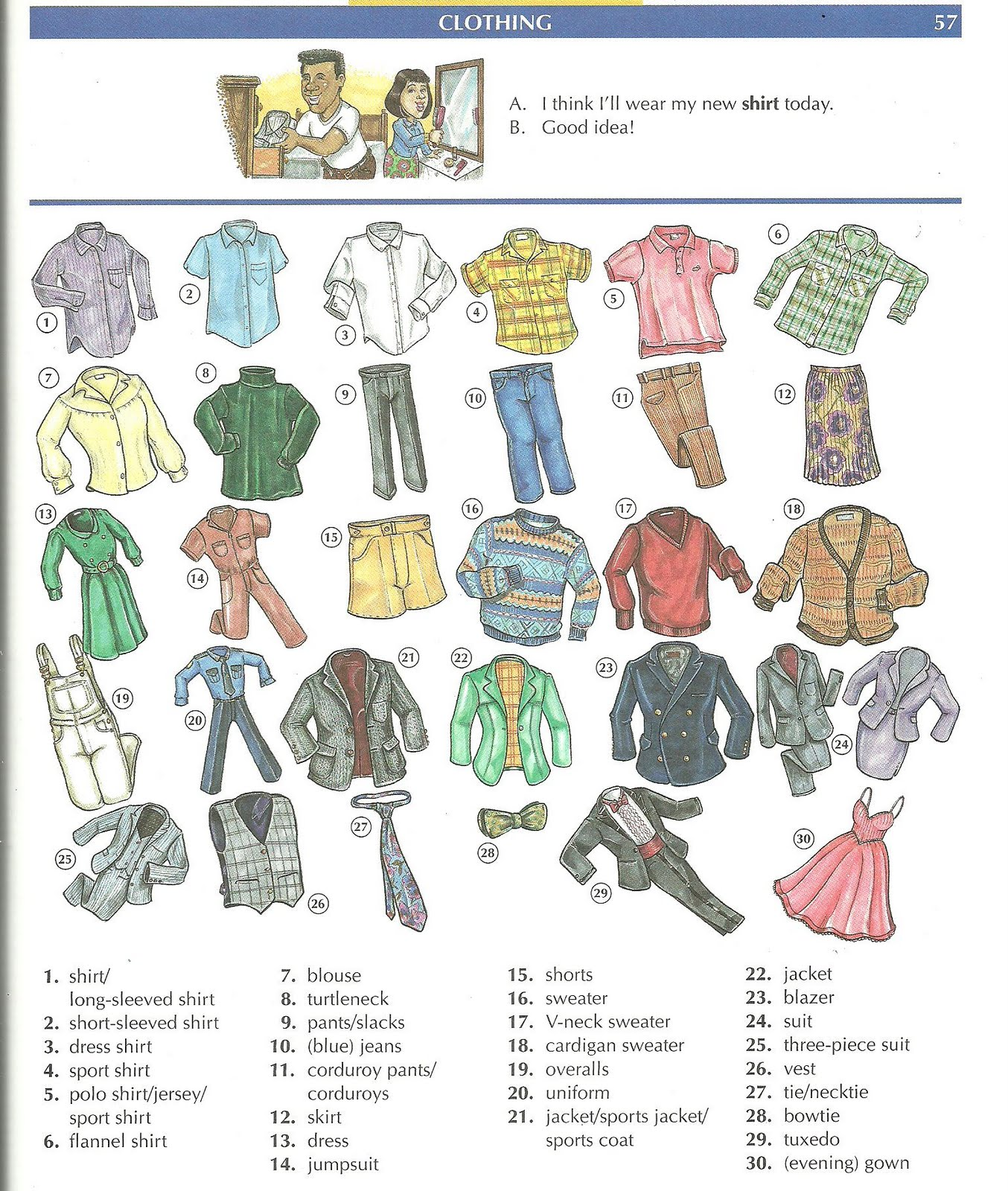 Miss Nicole S Classroom 8 Descriptive Adjectives And Clothes