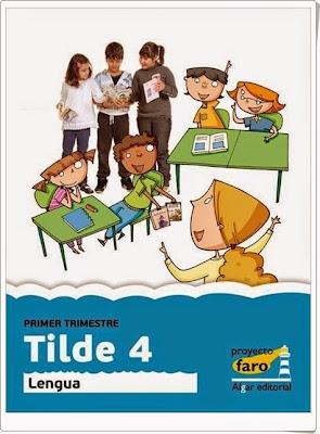 Tilde 4  Actividades digitales de Lengua Española de 4º de Primaria