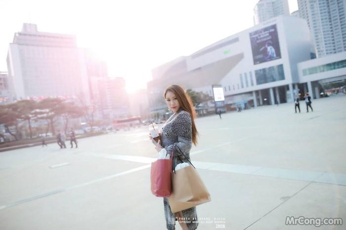 Người đẹp Kim Tae Jung tại hội chợ Busan International Boat Show 2017 (224 ảnh)