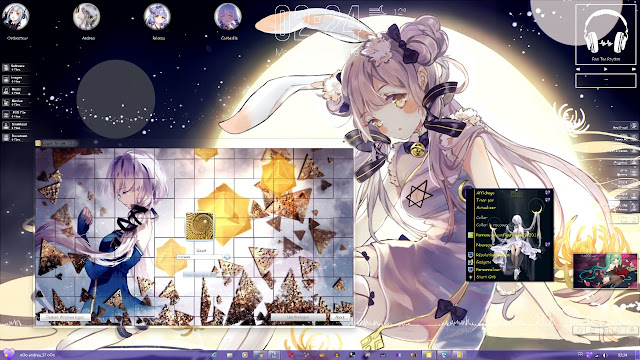 Stardust - Xingchen V3 Theme Win 7 by Andrea_37