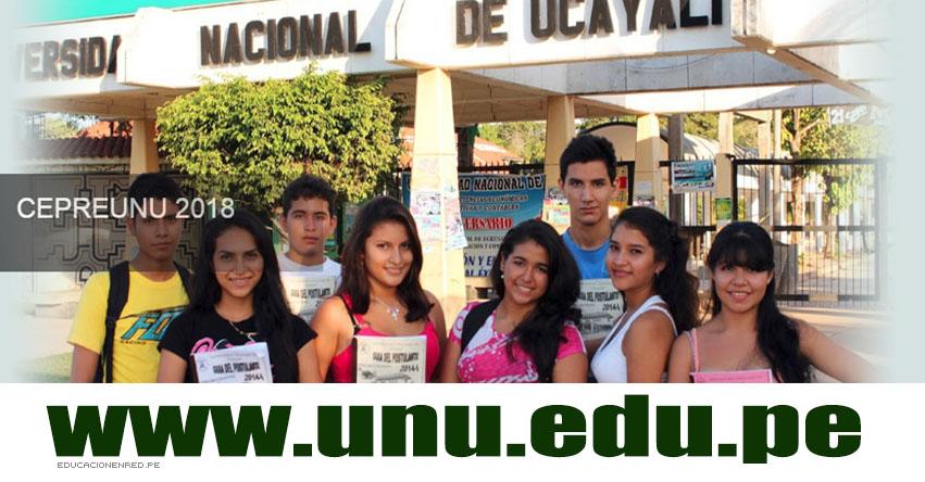 Resultados CEPRE UNU 2019-1 (22 Julio) Ingresantes Segundo Examen Pucallpa - Nueva Requena - Universidad Nacional de Ucayali - www.unu.edu.pe