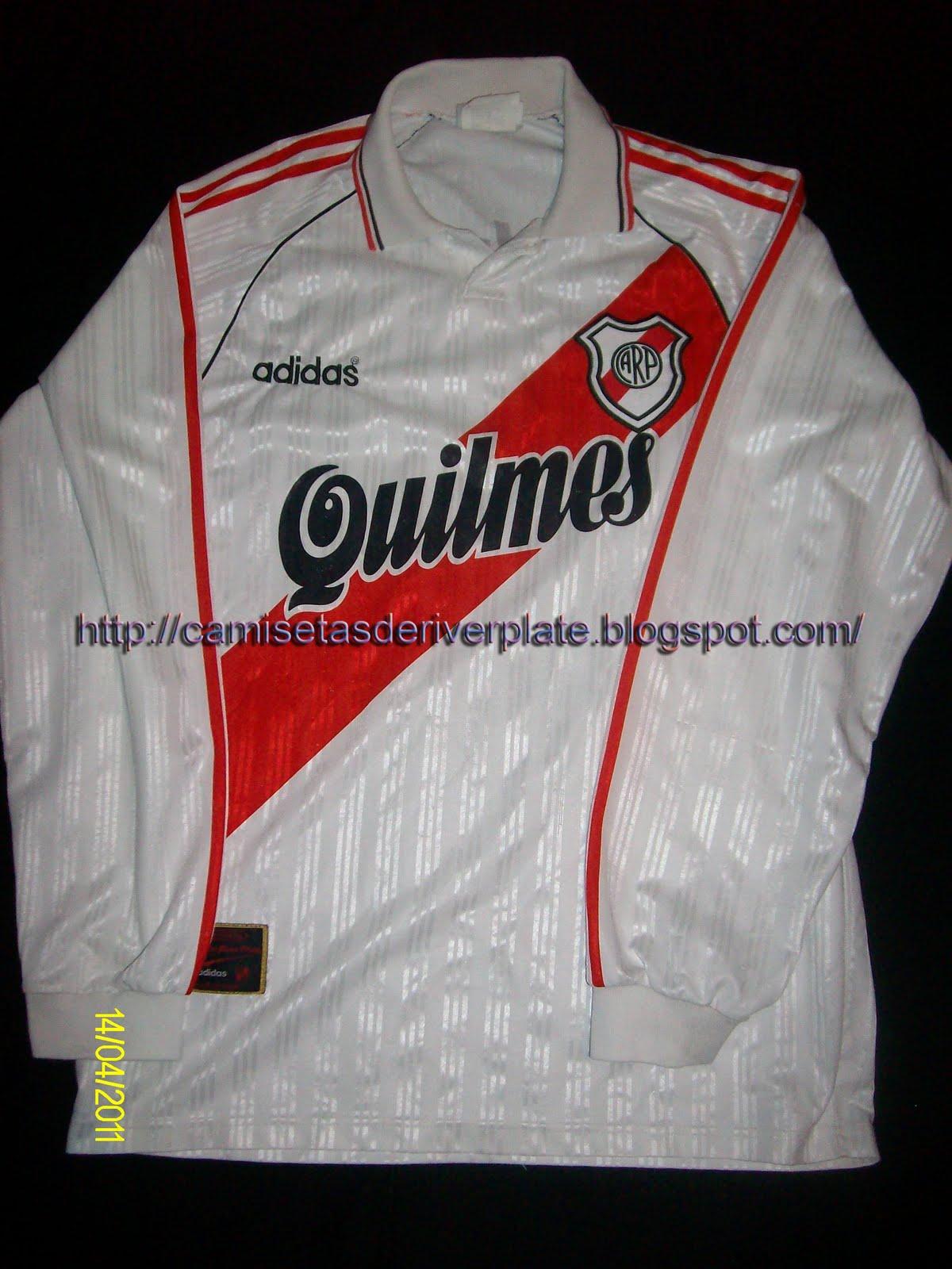 precio atractivo busca lo último último Camisetas de River Plate: Camiseta Titular 1996 (manga larga)