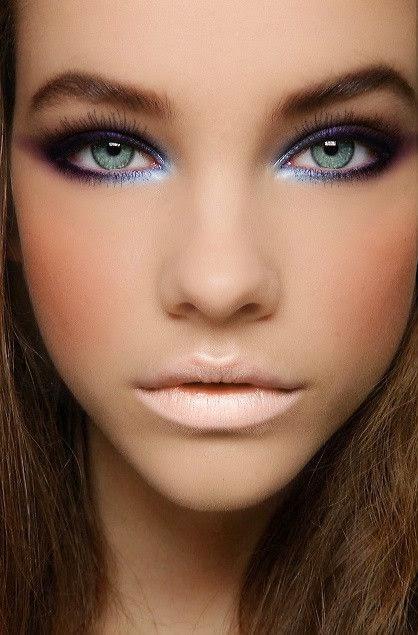 Super Abito blu trucco cosmetics - Fashion touch italy TZ82