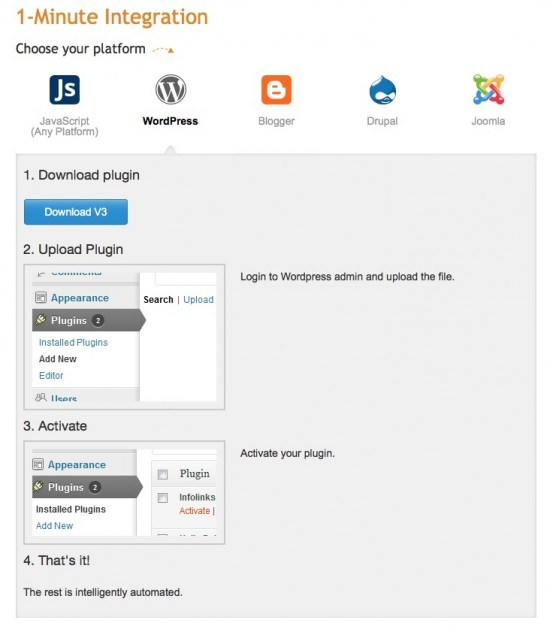 How to Install Infolinks Ad Code in Blogger or Wordpress