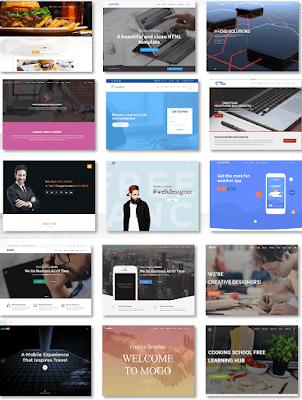 шаблоны сайтов HTML astemplates