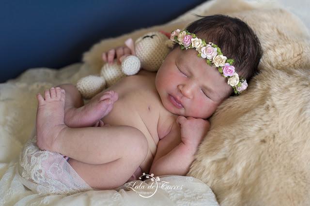 Foto de Carmen. Nacimiento en la maternidad de Viamed Sevilla