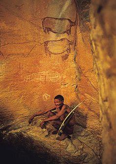 Cueva refugio bosquimanos - Tsodilo