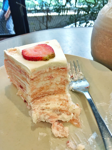 Crepe Amelie cakes Antel 2000 Valero Makati City Strawberry Fields