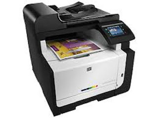 Image HP LaserJet Pro CM1415fn Printer