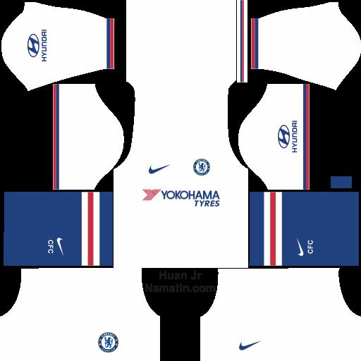 Baju Dream League Soccer Chelsea