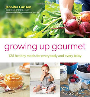 Enter the Growing Up Gourmet: 125 Healthy Meals for Everybody and Every Baby Giveaway. Ends 11/2