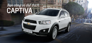Chevrolet Captiva mới
