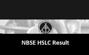 NBSE HSLC Result 2017