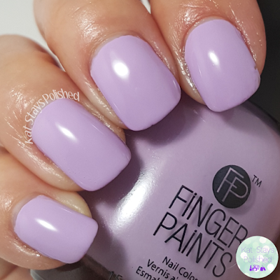 FingerPaints Ashley Nell Tipton Project Runway Collection - Lavender Love | Kat Stays Polished
