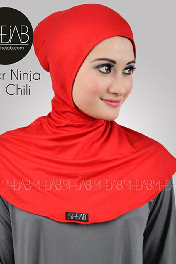 Ciput Ninja Antem Merah Shejab